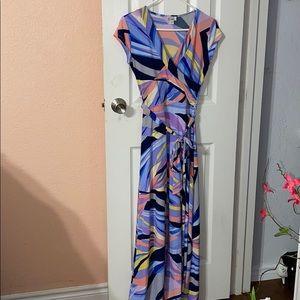 Colorful Maxi Dress Olivia Matthews